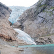 Glacier Briksdal, Norway - Stock Photo