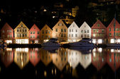 Bryggen i Bergen, Norway — Stock Photo