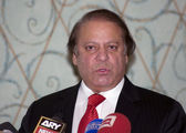 Pakistani Prime Minister Nawaz Sharif — Photo