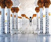 Grand Masajid Abu Dhabi — Stock Photo