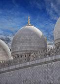Abu Dhabi Grand Mosque — Stock Photo