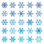 Snowflakes set — Stock Vector #48981973