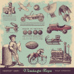 Toys for boys — Stock Vector #49208371