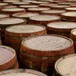 Stock Photo: Wooden barrels