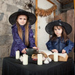 Two little witches — Stock Photo #12640453