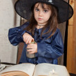 Little witch — Stock Photo #12640466