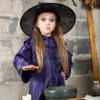 Little witch — Stock Photo #12640469