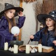 Two little witches — Foto de stock #12640495