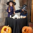 Two little witches — Stockfoto #12640501