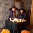 Photo: Two little witches