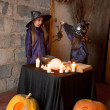 Two little witches — Stock Photo #12640513