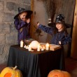 Two little witches — Stock Photo #12640516
