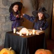 Two little witches — Stock Photo #12640518