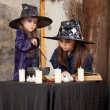 Two little witches — Stock Photo #12640520