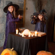Two little witches — Stock Photo #12640534