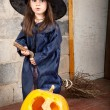 Little witch — Stock Photo #12640573