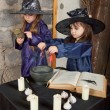 Two little witches — Stock Photo #12640578