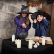 Two little witches — Stock Photo #12640580