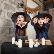 Two little witches — Stock Photo #12640587