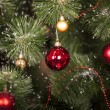 Stock Photo: Christmas toys on Christmas tree