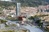 Bilbao city view. — Stock Photo