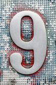 Número nueve. — Foto de Stock