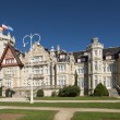 Stock Photo: Magdalenpalace in Santander, Cantabria, Spain.