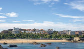 Views of Santander city and Sardinero beach, Cantabria, Spain. — Stock Photo
