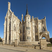 Episcopal Palace in Astorga, Leon, Spain. — Stok fotoğraf