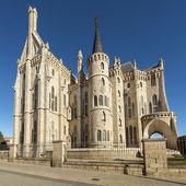 Episcopal Palace in Astorga, Leon, Spain. — Stock Photo
