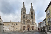Cathedral of Santa Maria, Burgos, Castilla, Spain. — Stockfoto