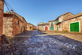 Castrillo de los Polvozares, tipical village of Castile, Leon, S — Stock Photo