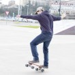 Skateboarder in action. — Stock Photo