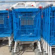 Stock Photo: Carts for purchases