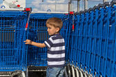 Carts for purchases — Stock Photo