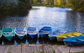 Boats at the mooring — Stock Photo