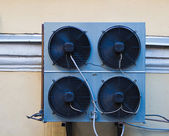 Photo wall air conditioner — Stock Photo