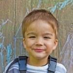Portrait of the boy — Stock Photo #15287187