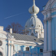 Russia, St. Petersburg. Smolny Cathedral — Stock Photo