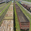 Marshalling yard — Stock Photo