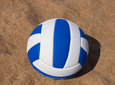 Volleyball on the sand — Stock Photo