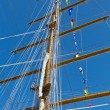 Sailboat mast — Stock Photo