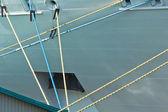 Mooring ropes — Stock Photo
