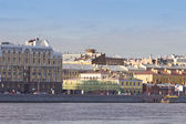 Smolnaja embankment. Russia, Saint-Petersburg — Stock Photo
