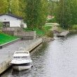 Sulkava - the municipality in Finland — Stock Photo
