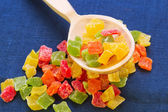 Candied pineapple — Stock Photo