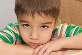 Ritratto di un bambino — Foto Stock