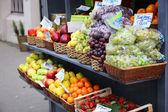 Obchod s ovocem — Stock fotografie