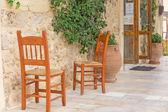 Beautiful streets of Rethymno — Stock Photo