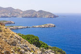 Colorful landscape of the Mediterranean — Stock Photo